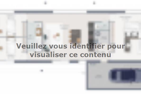 Plan de maison Eco Concept 95 PP 3 chambres  : Photo 1