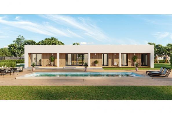 Modèle de maison Eco Concept 115 PP 3 chambres  : Photo 1