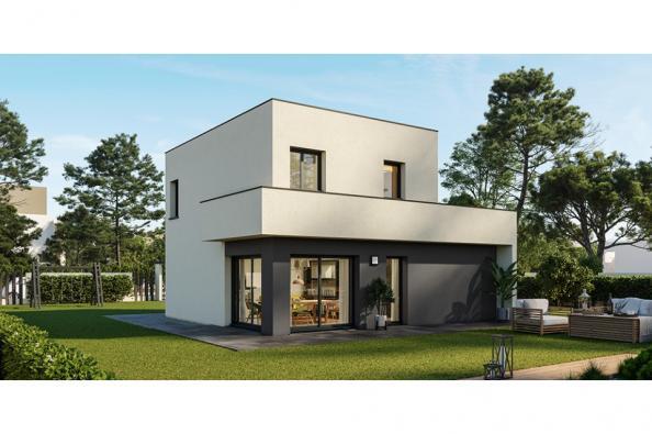 Modèle de maison Eco Concept 90 R+1 GI 3 chambres  : Photo 1