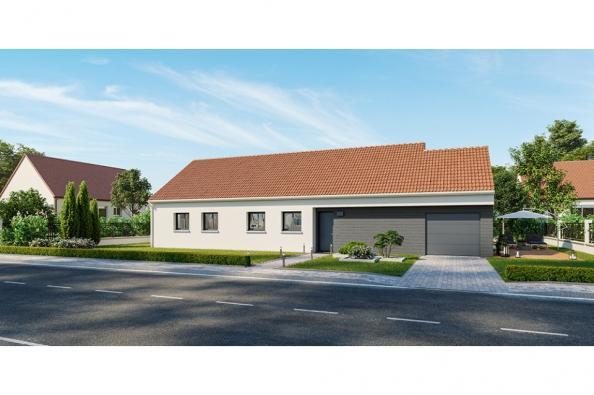 Modèle de maison Family 105 GA 4 chambres  : Photo 1