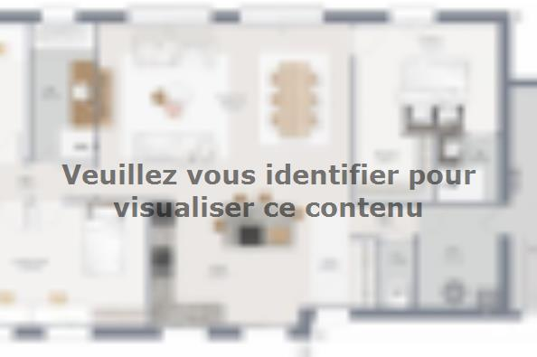 Plan de maison Family 120 GA 4 chambres  : Photo 1
