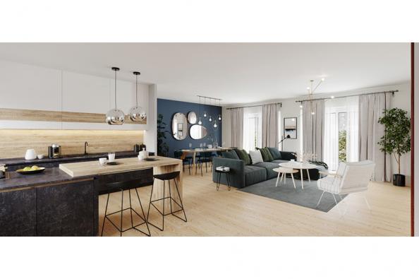 Modèle de maison Family 120 GA 4 chambres  : Photo 3