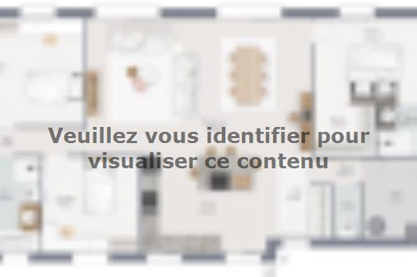 Plan de maison Family 140 GA 5 chambres  : Photo 1