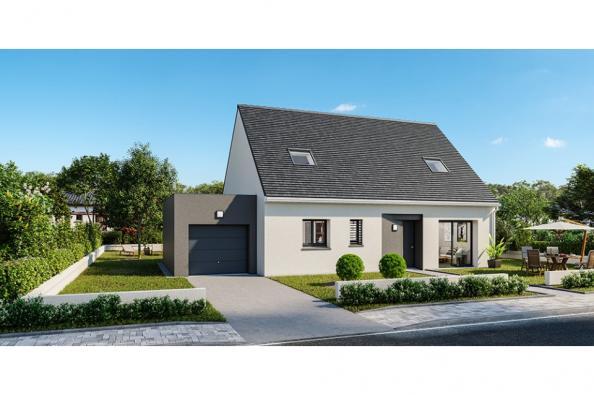 Modèle de maison Horizon 115 GA 4 chambres  : Photo 1