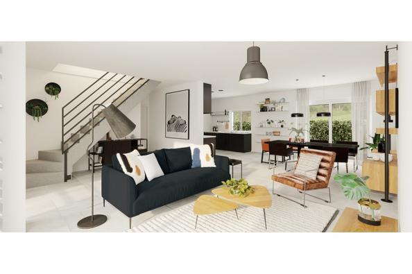 Modèle de maison Horizon 115 GA 4 chambres  : Photo 3