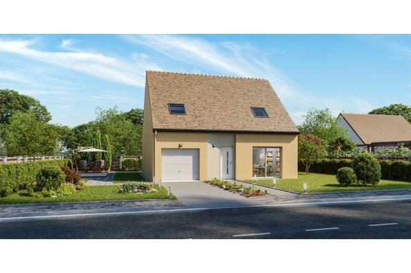 Modèle de maison Horizon 110 GI 4 chambres  : Photo 1