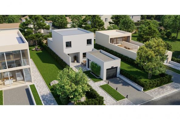 Modèle de maison Rubic 110 4 chambres  : Photo 1