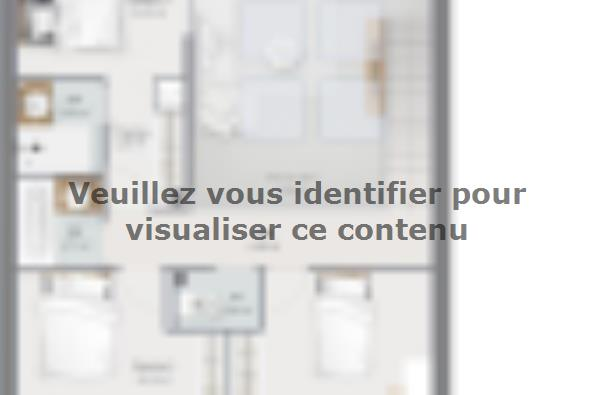 Plan de maison Urba 105 3 chambres  : Photo 2