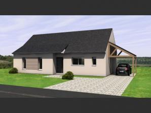 Maison neuve au Louroux-Béconnais (49370)<span class='prix'> 206890 €</span> 206890