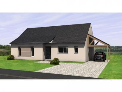 Maison neuve  au  Louroux-Béconnais (49370)  - 206890 € * : photo 1
