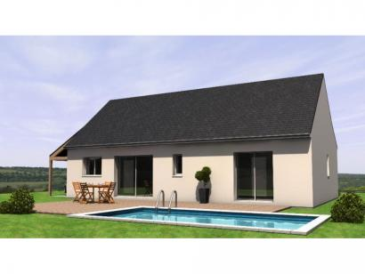 Maison neuve  au  Louroux-Béconnais (49370)  - 206890 € * : photo 2