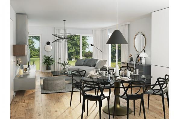 Modèle de maison Eco Concept 90 R+1 GI Brique 3 chambres  : Photo 2