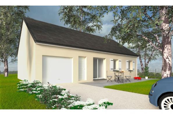 Modèle de maison PT_PP_3_85_GEF_Nord 3 chambres  : Photo 1