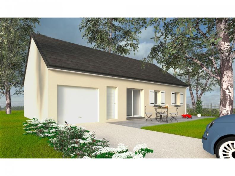 Modèle de maison PT_PP_3_85_GEF_Nord : Vignette 1