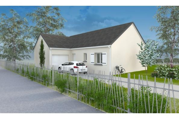 Modèle de maison PT_PP_3_85_GAENL_Nord 3 chambres  : Photo 1