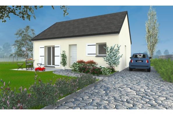 Modèle de maison PT_PP_2_65_SG_Nord 2 chambres  : Photo 1