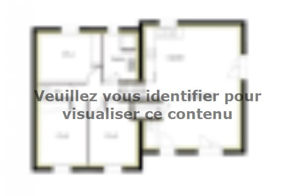 Plan de maison PT_D_3_75_Nord 3 chambres  : Photo 1