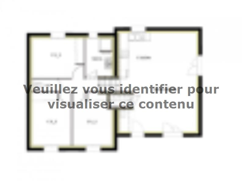 Plan de maison PT_D_3_75_Nord : Vignette 1