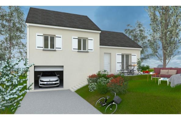 Modèle de maison PT_D_3_75_Nord 3 chambres  : Photo 1