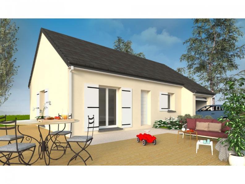 Modèle de maison PT_PP_3_75_GEF_Nord : Vignette 1
