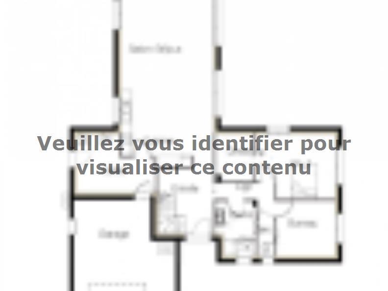 Plan de maison PP172_P1279V11 : Vignette 1