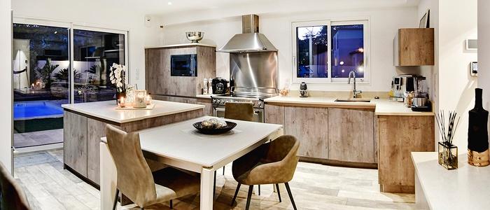Votre cuisine dans une maison france confort