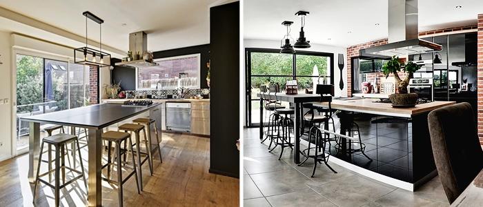 Cuisine plus spacieuse Maisons France Confort