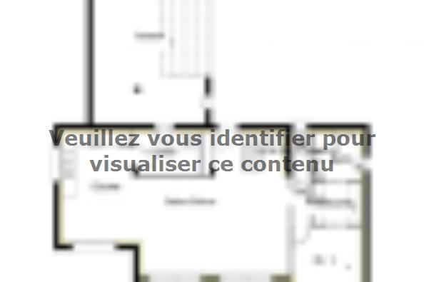 Plan de maison PPE135_P1603V3 4 chambres  : Photo 1