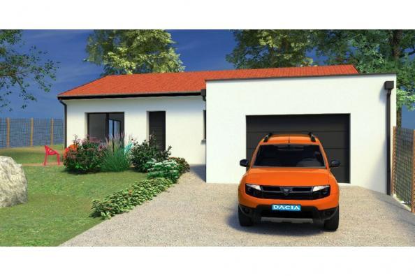 Modèle de maison PP93_P1568 3 chambres  : Photo 1
