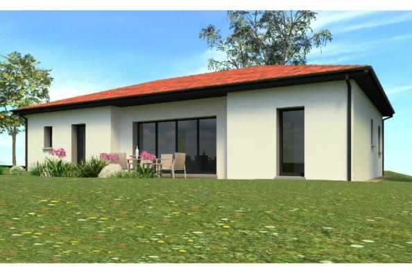 Modèle de maison PP103_P1567V4 3 chambres  : Photo 1