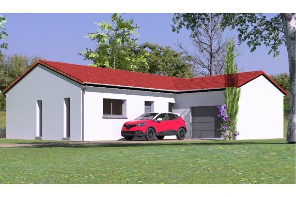 Modèle de maison PP97_P1356V8 3 chambres  : Photo 1