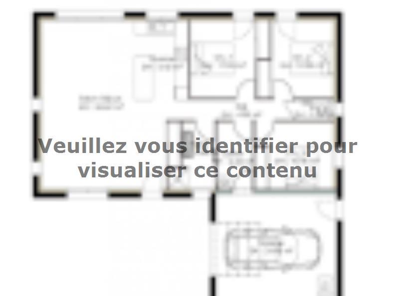 Plan de maison PP97_P1356V8 : Vignette 1
