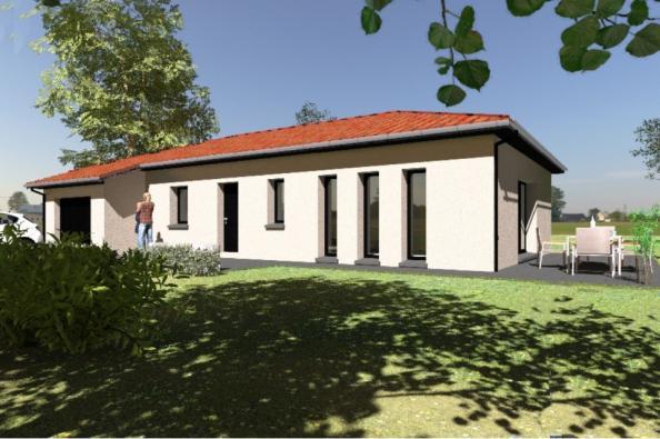 Modèle de maison PP96_P640V9 3 chambres  : Photo 1