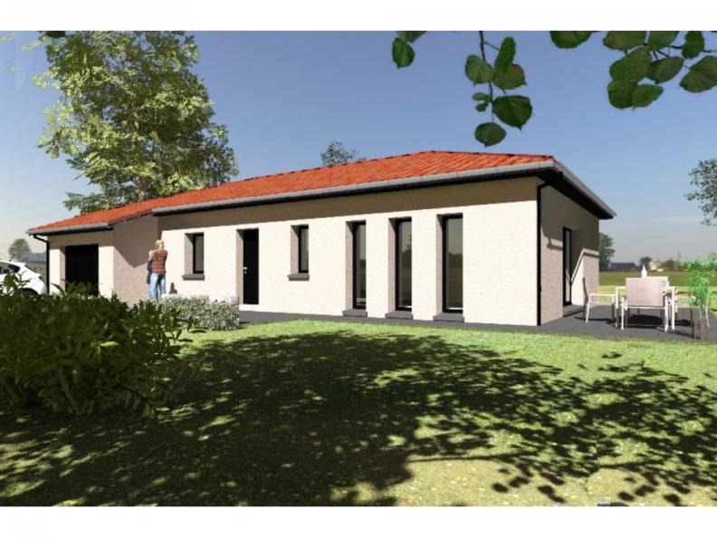 Modèle de maison PP96_P640V9 : Vignette 1