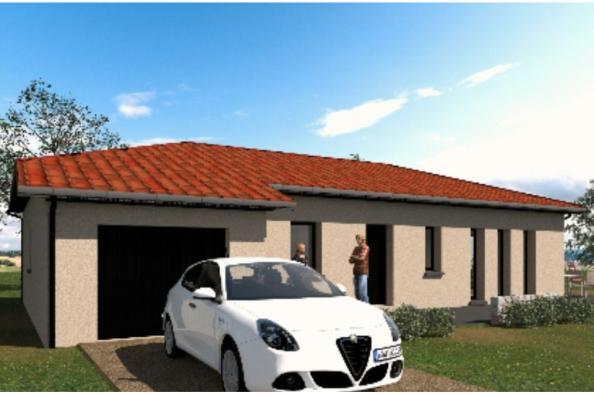 Modèle de maison PP96_P640V9 3 chambres  : Photo 2