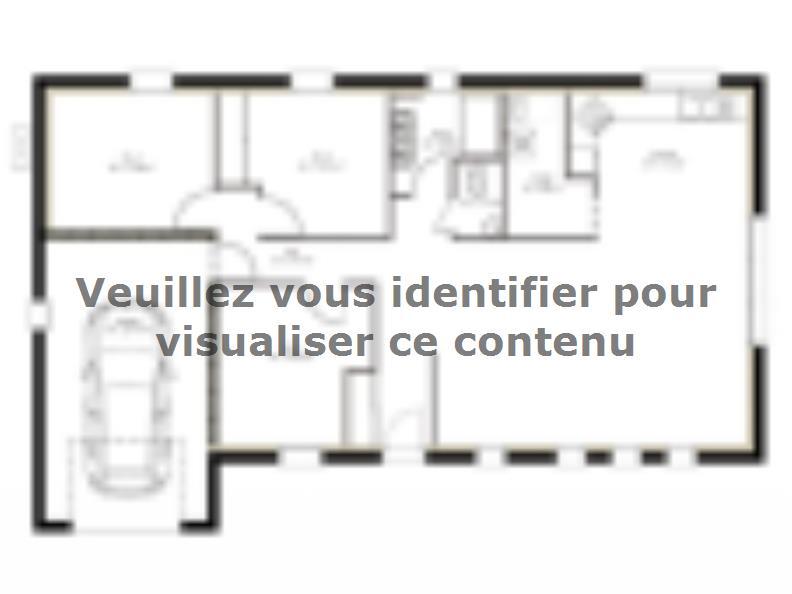 Plan de maison PP96_P640V9 : Vignette 1