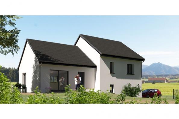 Modèle de maison D92_P886V5 3 chambres  : Photo 1