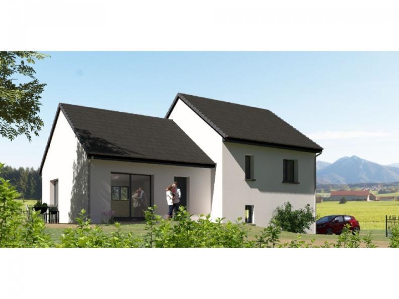 Modèle de maison D92_P886V5 : Vignette 1