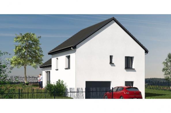 Modèle de maison D92_P886V5 3 chambres  : Photo 2