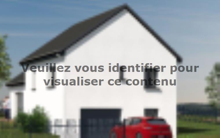 Modèle de maison D92_P886V5 : Vignette 2