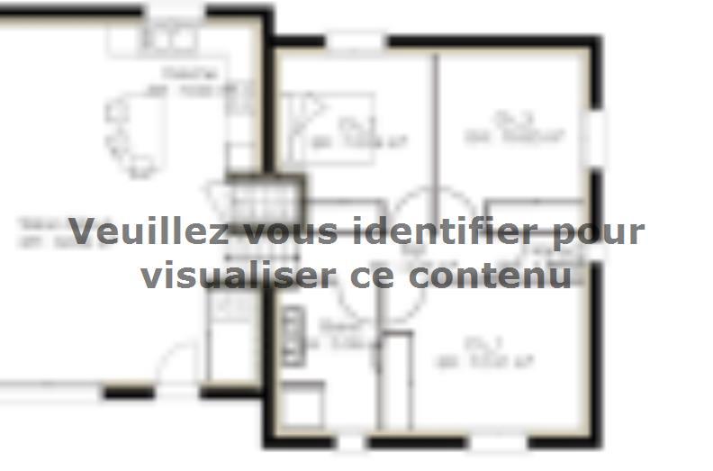 Plan de maison D92_P886V5 : Vignette 1
