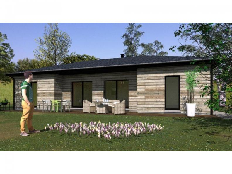 Modèle de maison PP107_P1303V2 : Vignette 1