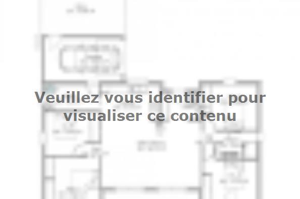 Plan de maison PP107_P1303V2 4 chambres  : Photo 1