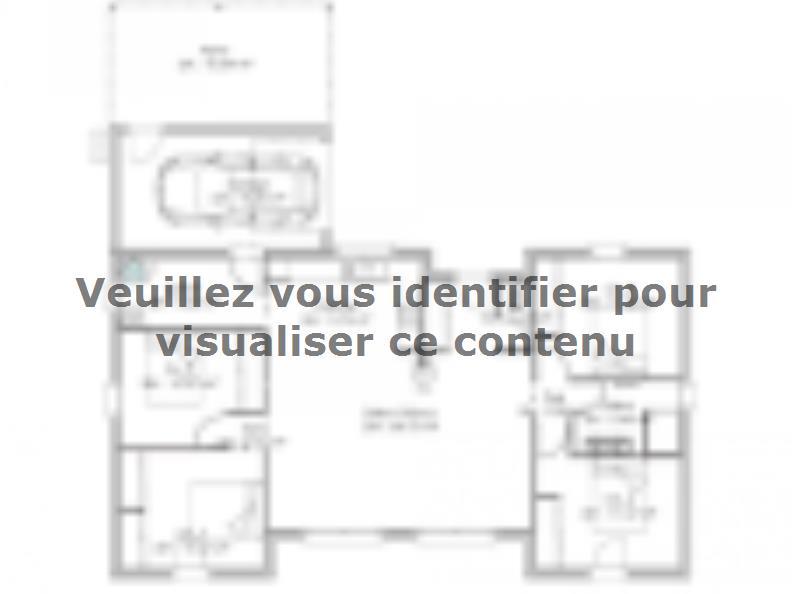 Plan de maison PP107_P1303V2 : Vignette 1