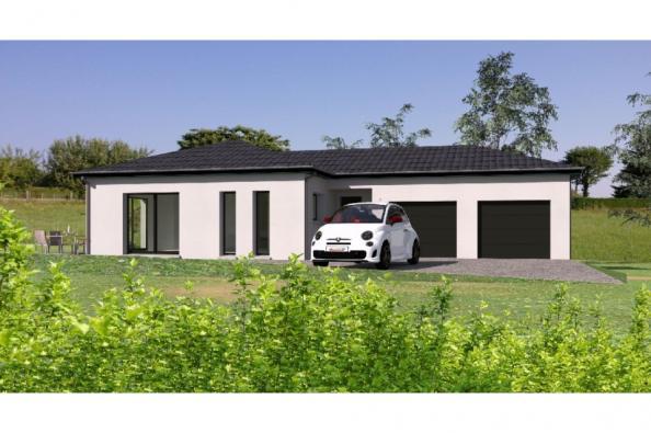 Modèle de maison PP124_P1142V2 4 chambres  : Photo 1