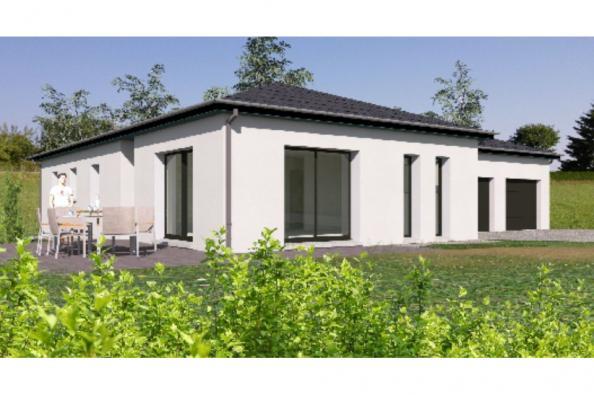 Modèle de maison PP124_P1142V2 4 chambres  : Photo 2
