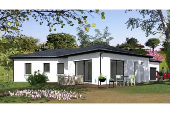 Modèle de maison PP122_P1142V5 4 chambres  : Photo 1