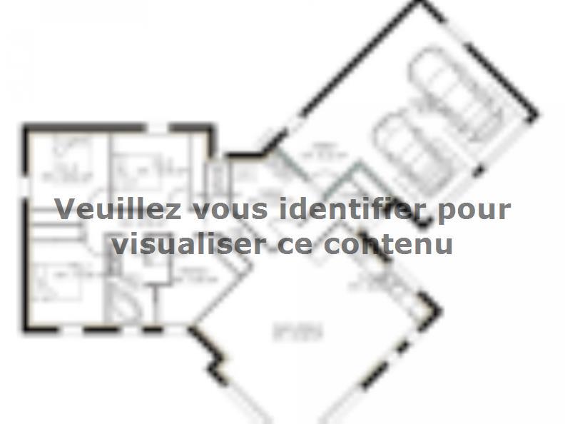Plan de maison PP122_P1142V5 : Vignette 1