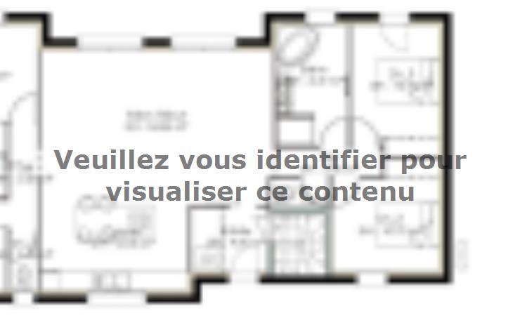 Plan de maison SS122_P1127V2 : Vignette 1