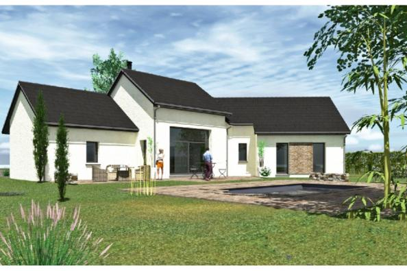 Modèle de maison PP124_P66V11 4 chambres  : Photo 1